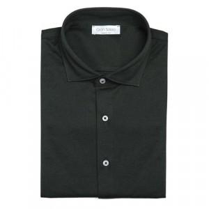 Gran Sasso Shirt Jersey Pique Forest Green