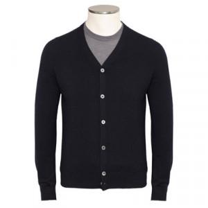 Gran Sasso Cardigan Wool Blue