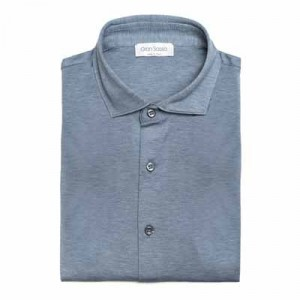Gran Sasso Jersey Pique Light Blue