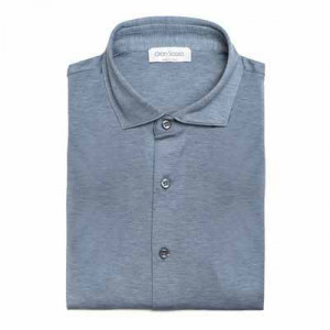 Gran Sasso Gran Sasso Jersey Pique Light Blue