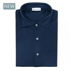 Gran Sasso Shirt Jersey Blue
