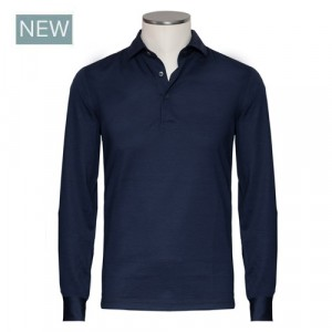 Gran Sasso Polo Long Sleeve Blue