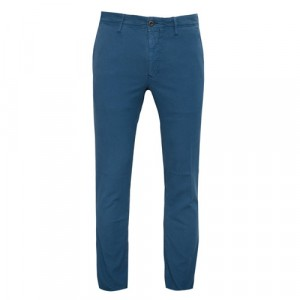 Incotex Slacks Cotton Blue