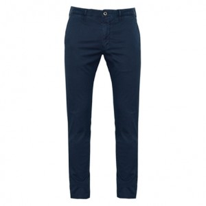 Incotex Trousers Cotton Blue