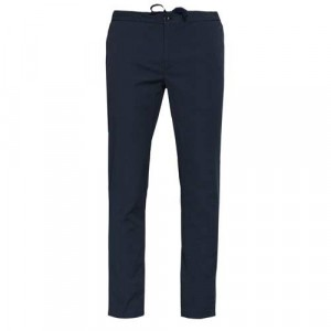 Incotex Drawstring Trousers Blue