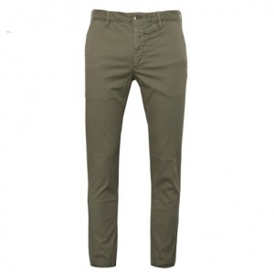 Incotex Slacks Cotton Green