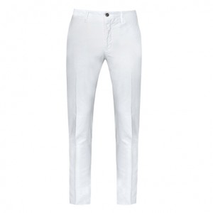Incotex Trousers Cotton White