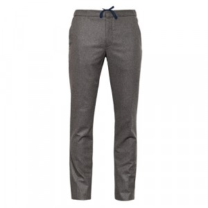 Incotex Flannel Trousers Taupe