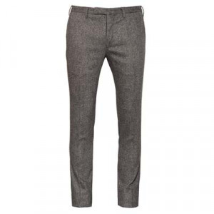 "Incotex Trousers ""Venezia"" Wool Grey"