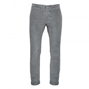 Incotex Slacks Ribcord Grey