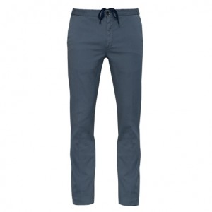 Incotex Drawstring Cotton Trousers Grey