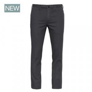 Incotex Trousers Herringbone Grey