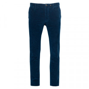 Incotex Indigo Chino Rib Denim