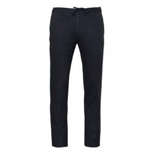 Incotex Trousers Jersey Drawstring Blue-Grey