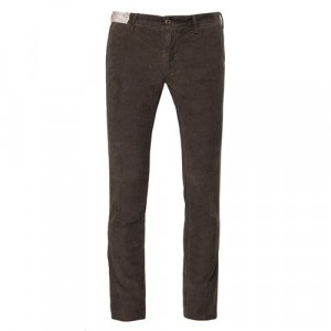 "Incotex Trousers ""Slacks"" Corduroy Brown"