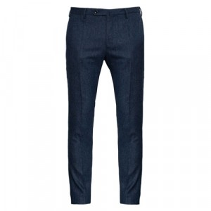 "Incotex Trousers ""Venezia"" Wool Blue"
