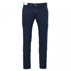 "Incotex ""Slacks"" Fantasy Weave Navy"