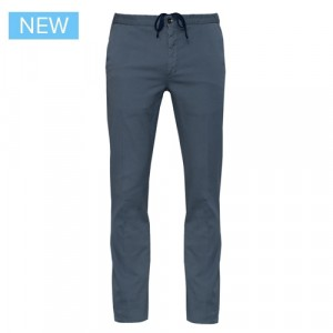 Incotex Drawstring Cotton Trousers Grey