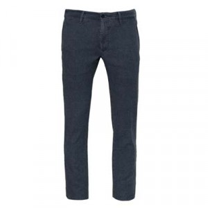 "Incotex Trousers ""Slacks"" Pied-a-Poule Blue"