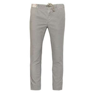 "Incotex ""Slacks"" Pleated Drawstring Grey"