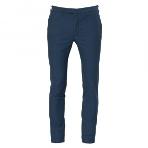 Incotex Ice Cotton Trousers Blue