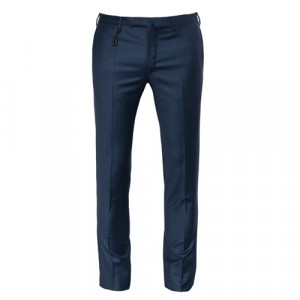 Incotex Trousers Light Flannel Blue