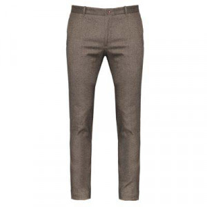 Incotex Slim Fit Cloud Cotton Brown