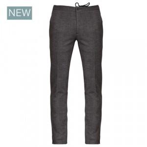 Incotex Trouser Drawstring Pied-a-Poule Brown