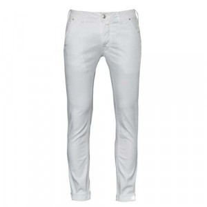 Jacob Cohen J613 Canvas Cotton White