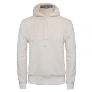 Jacob Cohen Hoodie Off-White