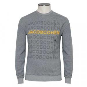 Jacob Cohen Fleece Sweater Grey