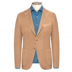 Lubiam Garment Dyed Jacket Beige