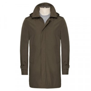 Manto Trenchcoat Green