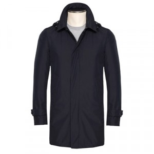 Manto Trenchcoat Blue