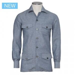 Marol Safari Cotton-Linen Shirt