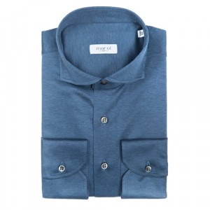 Marol Jersey Shirt Grey/Blue