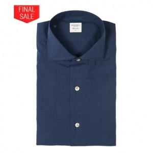 Mazzarelli Shirt Check Navy