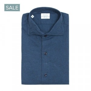 Mazzarelli Shirt Blue Flannel