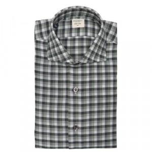Mazzarelli Shirt Check Green