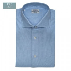 """Mazzarelli Shirt """"Giro Inglese"""" Blue"""
