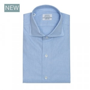 Mazzarelli Shirt Fantasy Light Blue