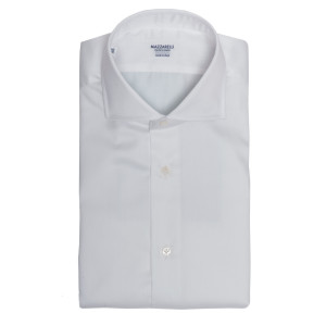 Mazzarelli White Shirt Satin