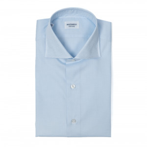 Mazzarelli Shirt Light Blue