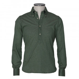 Mazzarelli Polo Long Sleeve Green