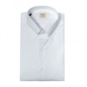 Mazzarelli Shirt Buttondown White