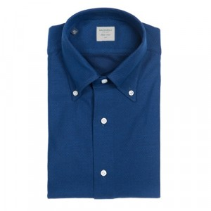 Mazzarelli Shirt Jersey Royal Blue