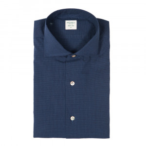 Mazzarelli Shirt Check Navy