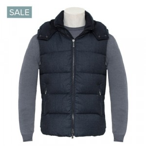 Moorer Bodywarmer Fayer-NO Blue