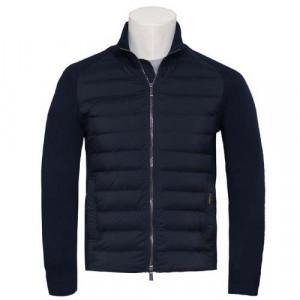 """Moorer Cardigan Jacket """"Magris"""" Blue"""