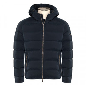 Moorer Down Coat Alex-OS Blue